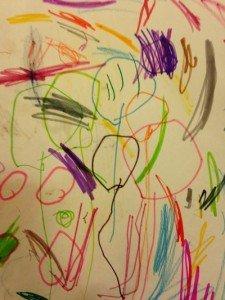Un disegno di mia figlia maggiore