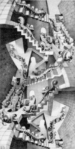 escher house of stairs