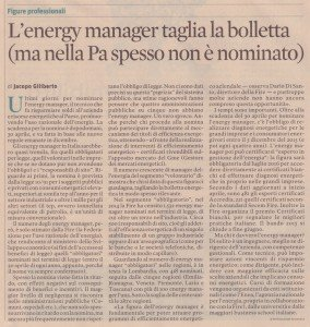energy manager sole24ore 28 aprile 2015