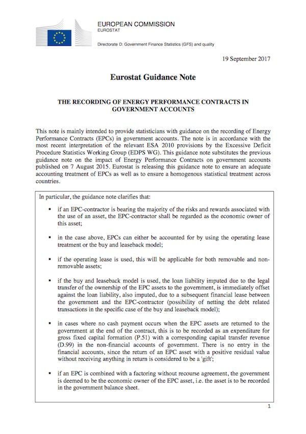 linee guida Eurostat