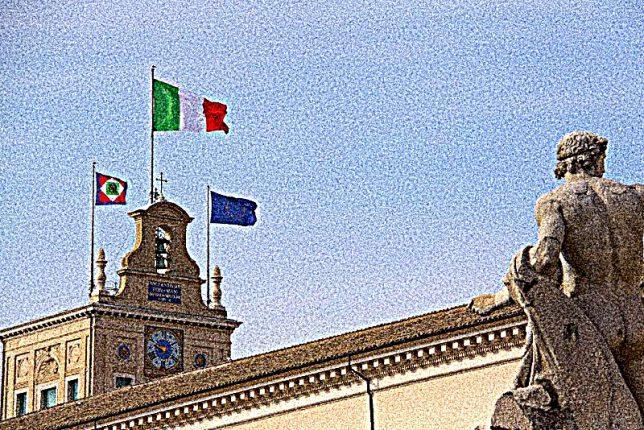 Bandiere sul Quirinale Dario Di Santo